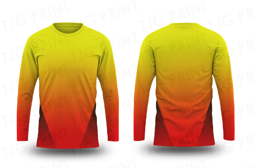 Long Sleeve Sublimation Jersey