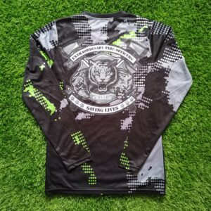 Sublimation Printing on Long Sleeve Dri Fit Shirt