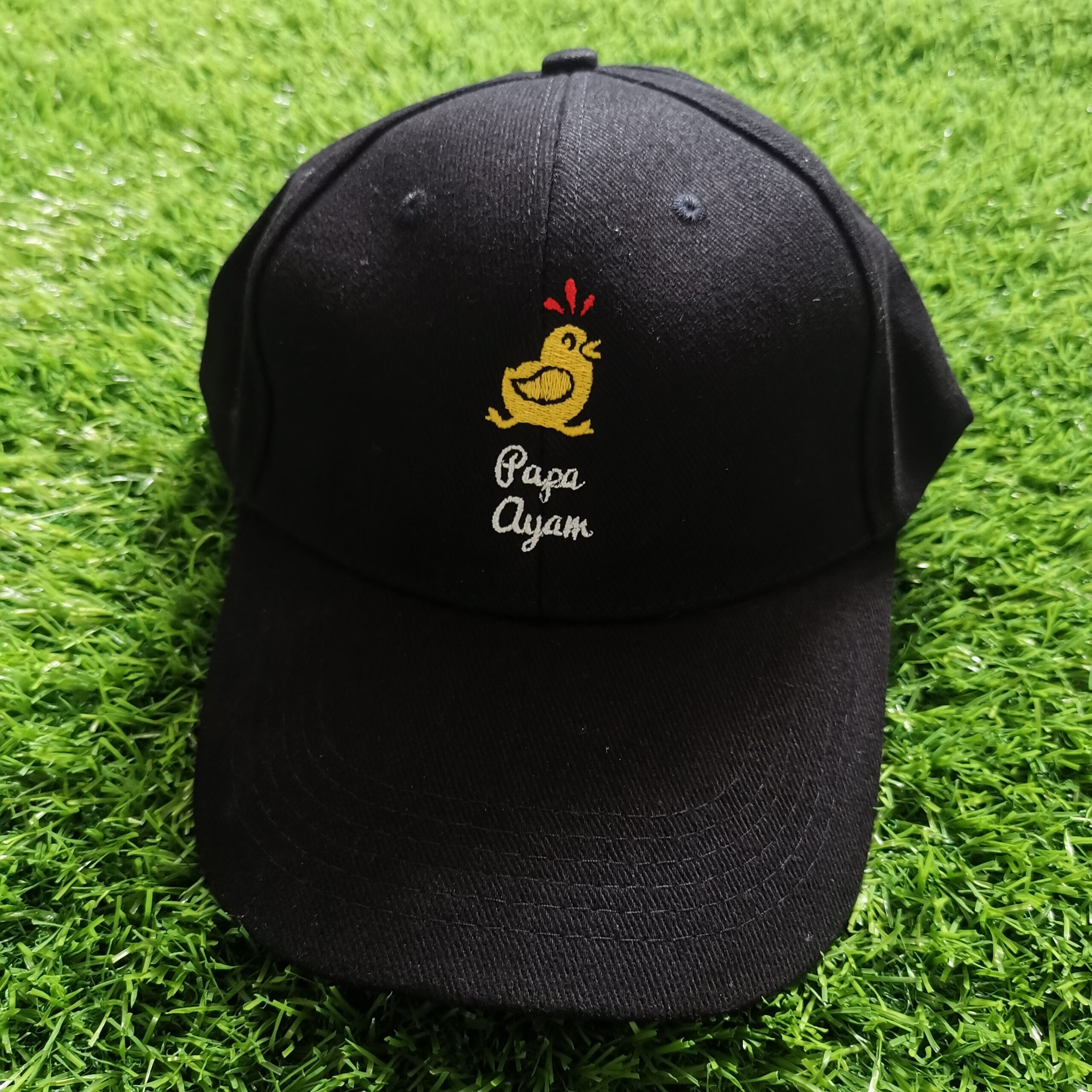 Caps Embroidery Brand Logo
