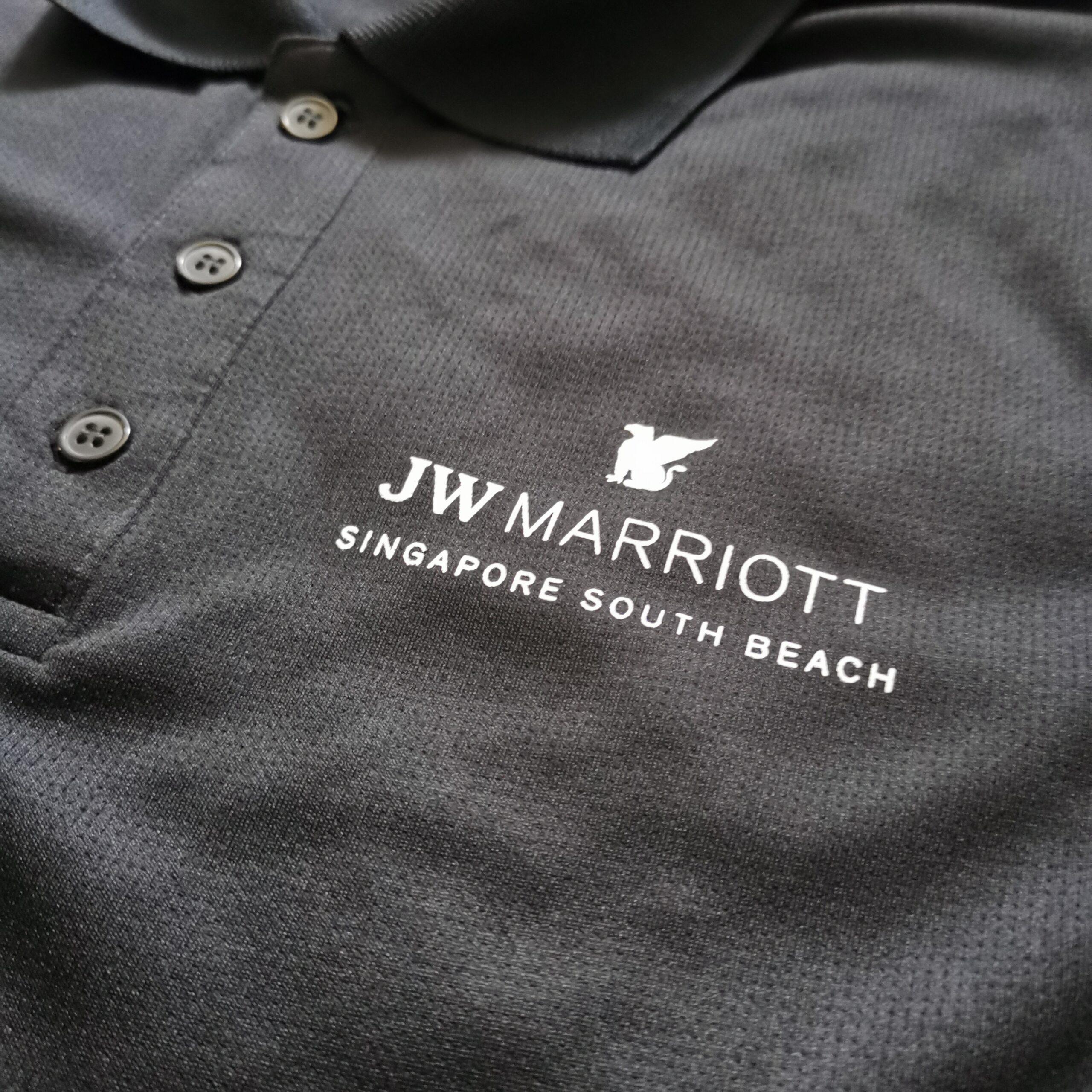 JW Marriott Custom Print Polo T-Shirt