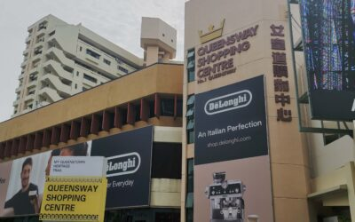 What can you find at Queensway Shopping Centre?
