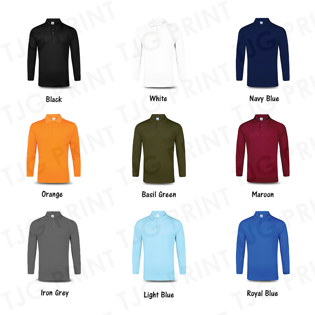 UDF27 Long Sleeve Dri Fit Polo Updated