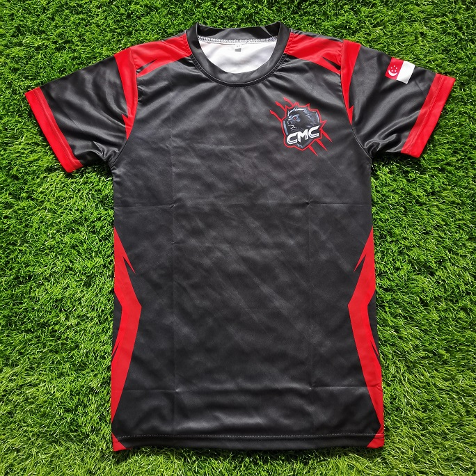CMC E-Sports Jersey in Sublimation Printing