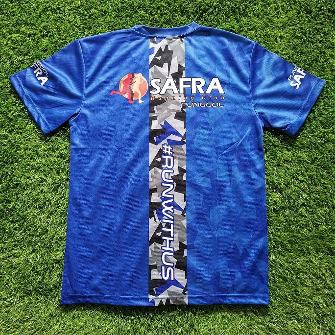 Safra Punggol Running Club T-Shirt Printed in Sublimation Printing
